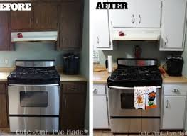 Paint Laminate Kitchen Cabinets by Before And After Kitchen Cabinet Painting Yeo Lab Com