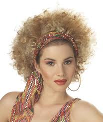 easy short hairstyles for women over 70 extra large blonde fashion afro wig catwalk runway carwash