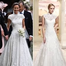 this wedding dress is the double of pippa middleton u0027s