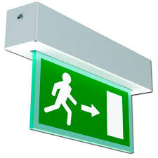 linear led sign lighting ceiling emergency light recessed linear led safe route
