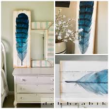 How To Paint Furniture Black by Lake Paints How To Paint Large Feather Art