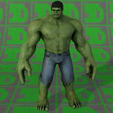 hulk 3d model obj dae