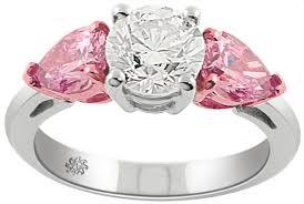 pink wedding rings pink diamond wedding ring wedding corners