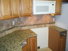 santa cecilia granite with tile backsplash design a photo on