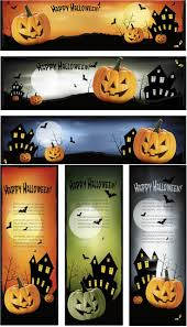 halloween banner design u2013 festival collections