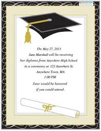 ceremony invitation bri s graduation