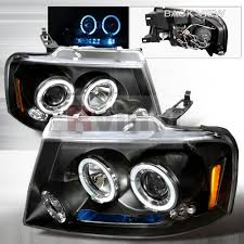 05 ford f150 headlights amazon com ford f 150 2004 2005 2006 2007 2008 led halo projector