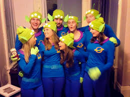 Disney Pixar Fancy Dress Group Team Costumes Toy Story Little