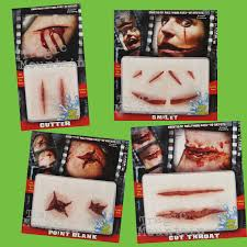 halloween prosthetic makeup kits special fx scars realistic prosthetic makeup blood the joker