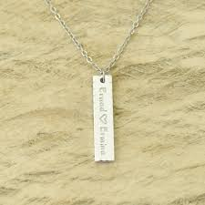 s day necklaces personalized custom initials necklace personalized gifts for bar necklace
