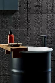Black Bathrooms Ideas by 145 Best Unique Wall Surfaces Images On Pinterest Architecture