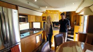 hgtvs celebrity motor homes will smith 2 story trailer via