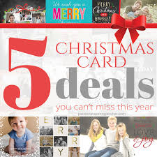 christmas card deals christmas deal 5 christmas card deals you can t miss this year