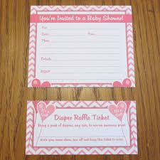 amazon com baby shower invitations with diaper raffle