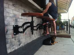 Wall Bar Ideas by Outdoor Bar Stools Bolted Down In Pavers Google Search Site