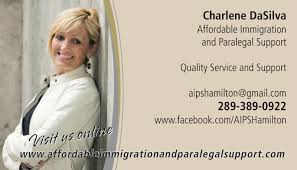 paralegal business cards affordable immigration and paralegal support opening hours