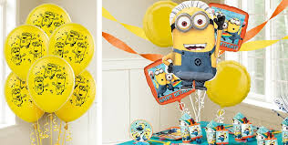 Despicable Me Decorations Despicable Me Balloons Party City