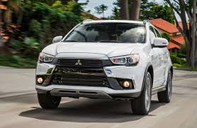mitsubishi truck 2016 2016 mitsubishi outlander sport official debut shows new nose