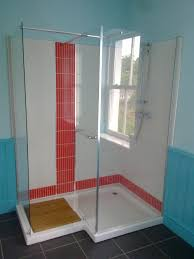 bathroom doorless shower for interesting shower room design beach style bathroom design with doorless shower and