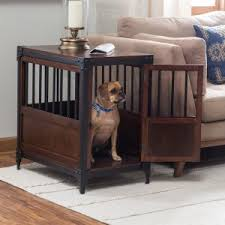 dog kennel side table dog crate furniture hayneedle