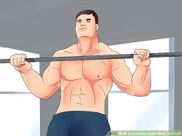 Chest And Shoulder - how to increase strength with pictures wikihow