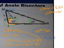 showme 5 3 use angle bisectors of triangles