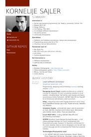 Senior Net Developer Resume Sample Software Developer Resume Samples Visualcv Resume Samples Database