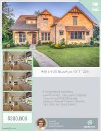 real estate flyers templates u0026 printing postermywall