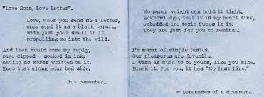 love soon love letter u2026 u201d serenades of a dreamer