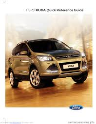 ford kuga 2015 2 g owners manual