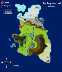 Minecraft World Maps by The Forgotten Land Minecraft Project