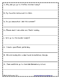 1st grade capitalization worksheets free worksheets library