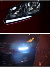 Ford Escape Accessories 2015 - kust led drl for kuga 2013 car external daytime running light for