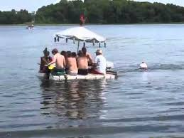 floating picnic table for sale the original picnic table boat youtube