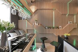 Wallpaper Designs For Kitchens Cool Modern Kitchen Ideal For Entertaining Idesignarch