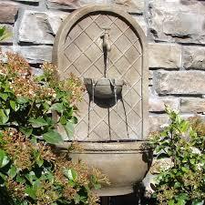 garden wall fountains crafts home