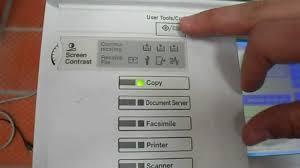 ricoh aficio mp 2510 fotocopiadora funciones opcionales de