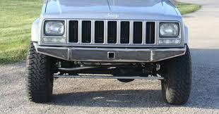 2000 jeep bumpers diy xj bumper front jeep 84 01 jcroffroad
