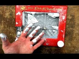 what u0027s inside an etch a sketch and see how it works youtube