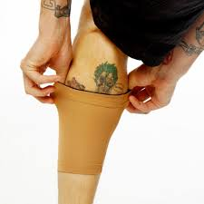 light skin tone calf leg cover up sleeves for tattoos u s made