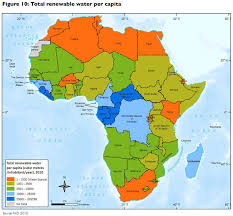 africa map 54 countries unep highlights environmental impacts on health in africa