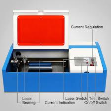 Laser Cutter Ventilation 40w Co2 Laser Engraving Cutting Machine Engraver Cutter Usb Port