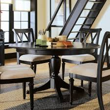 dining room table sets with leaf black round dining table with leaf tables sets style
