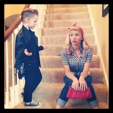 Greasers Halloween Costumes Mother Son Halloween Costumes Ryan Palmer Author