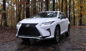 lexus suv 2016 colors exclusive animated renderings 2017 lexus rx l is lwb 7 seat variant