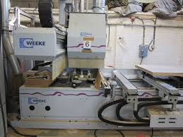 used weeke bhc 550 machining center with c axis cnc machining