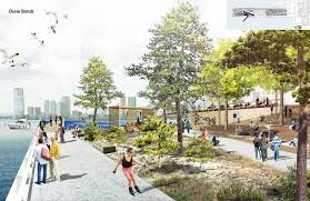 olin reveals renderings for 30m activity filled eco park on