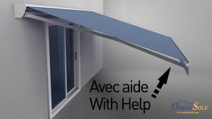 Installing Retractable Awning How To Install A Retractable Awning Ombrasole Awnings Montreal