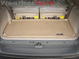 toyota sequoia cargo liner weathertech cargo liner trunk mat for toyota sequoia small