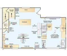 Shop Floor Plans Two Car Garage Woodshop This 2 Car Garage Was Designed When I